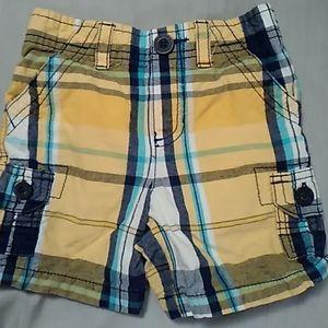 Baby boy shorts sz 18m